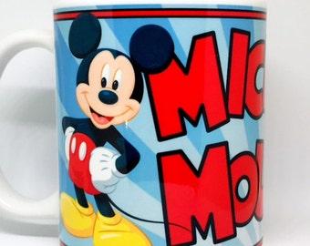 Custom Made Mickey Mouse 11oz or 15oz Coffee Mug
