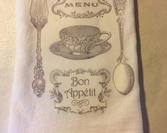 Bon Appetit flour sack towel