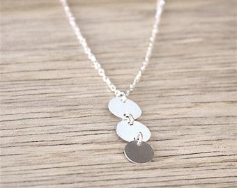 massive silver necklace three lozenges on massive money channel