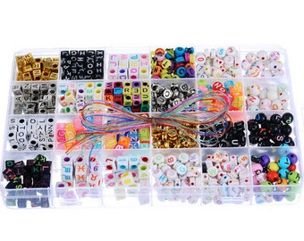 1 Beads kit Alphabet 19*13cm