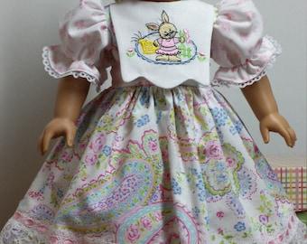 Sale ..American Girl doll, Easter Dress