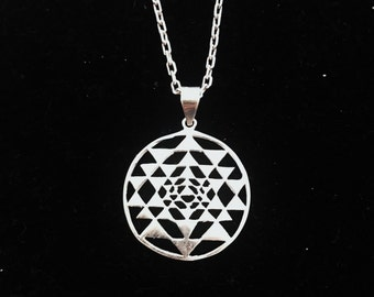 Sacred geometry pendent