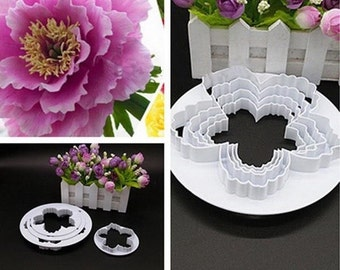 4 peices peony cutter