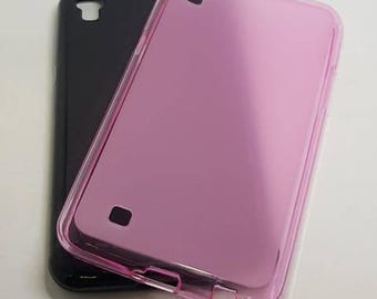 Blank LG X Power Phone Case for DIY project in Transparent. Plain Mobile Phone Case for Decoration.