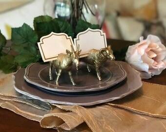 Barnyard Place Card Holder, Wedding Accessories, Animals