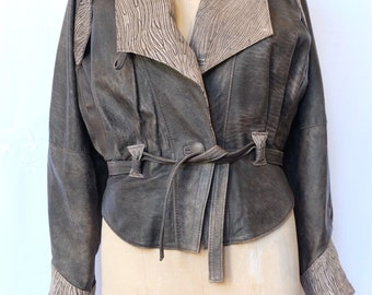 1980's leather jacket