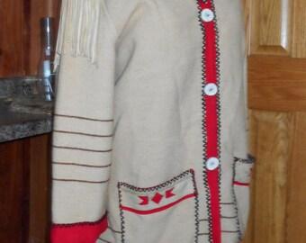 Capote wool jacket