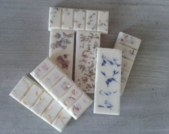 essential oil rapeseed and soy wax melt bars