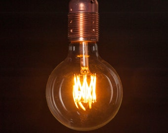 E27 6W Dimmable LED 95MM Globe Filament Bulb
