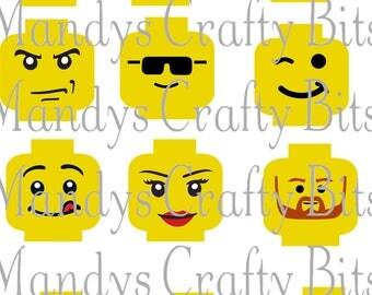 SVG Lego Expressions -Emoji