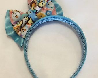 tsum tsum bow headband