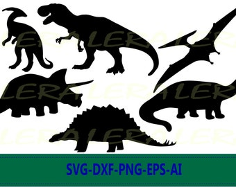 60 % OFF, Dinosaur Silhouette png, eps, svg, dxf, Dinosaurs SVG, Dinosaur Clipart, Animals Silhouettes, Silhouette Files, Cut Png File