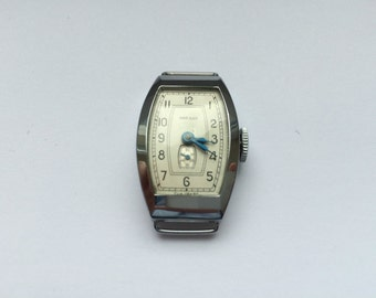 NOS vintage USSR Zvezda woman's watch, collectable, art deco watch