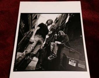 Vintage Black and White Nirvana Postcard