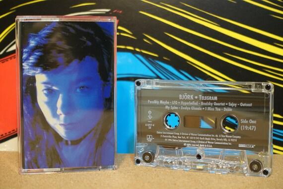 Telegram by Björk Vintage Cassette Tape