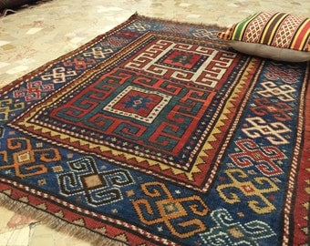 -20% discount Rug karabagh ancient Caucasus 124x89 cm