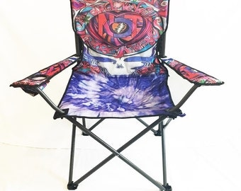 Not Fade Away Grateful Dead Camping Chair