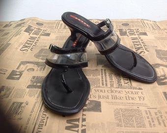 Prada Prada Sandals/flip flops/Sandals/Prada//Vintage/original Prada//vintage Prada