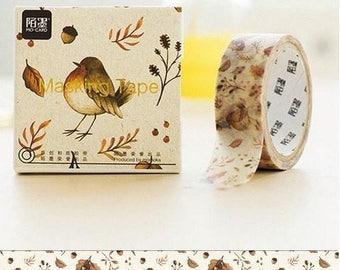 Washi Tape, Masking Tape, tape adhesive scrapbooking bird II