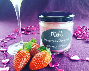 Strawberries & Champagne- 12oz Candle