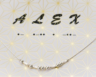 ALEX Morse Code Necklace