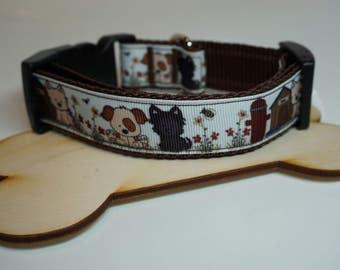 Dog collar collar dog world of adjustable 34 - 53 cm