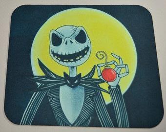 Jack Skellington Mousepad - Nightmare Before Christmas Mousepad