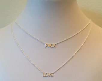 Nameplate Necklace Etsy