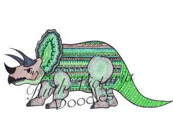 Dino (Dinosaur) - A5 Print
