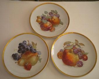 Golden Crown Orchard Plate Bavaria Jaeger