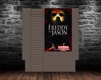 Freddy vs Jason - Final Frights for Freddy's Ferocious Feud - NES