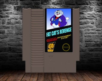 Fat Cat's Revenge - Rescue Rangers to the Rescue again! - NES - Chip and Dale Rescue Rangers