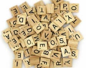 Scrabble letter frames