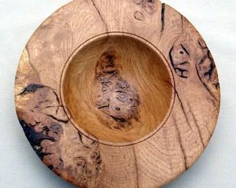 Oak Burr Bowl