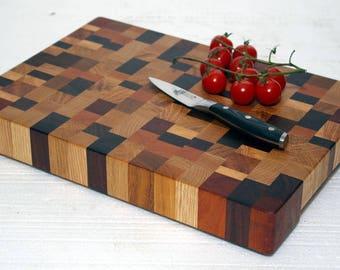 End Grain Cutting Board / End Grain Chopping Board / Cutting Board / Chopping block / End grain chopping Board