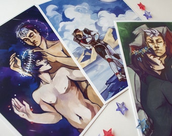 Voltron Shiro x Keith Print Pack