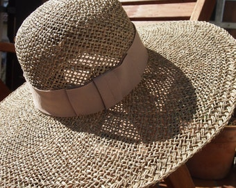 Seagrass straw hat