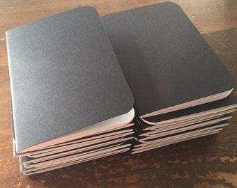 Bulk Blank Notebooks | 3.5 x 5 | Black Notebook | Notebook | Sketchbook | Journal | Black Journal | Black Sketchbook | Travelers Notebook