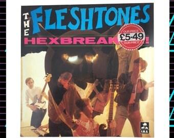 TheFleshtones - Hexbreaker LP Record, 1983 Vintage Vinyl Record Album, 80's Rock, Garage Rock LP