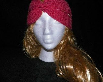 SALE!!! Coral Pink Ear Warmer Headband
