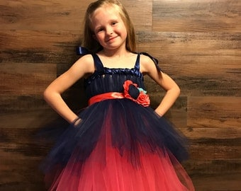 Two Tier Tutu Dress, Flower Girl Dress, Jr Bridesmaid Dress, Birthday Dress, Tutu Dress, Special Occasion Dress