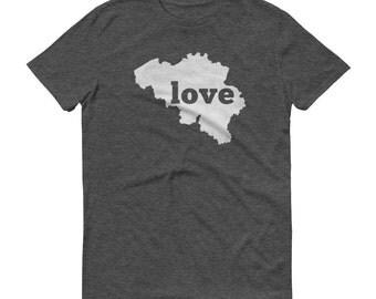 Belgium, Belgium Shirt, Belgian T Shirt, Belgium Clothing, Belgium TShirt, Belgium Map, Belgium Gifts, Made in Belgium, Belgium Love Shirt