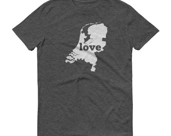 Netherlands, Dutch Shirt, Netherlands T Shirt, Dutch TShirt, Dutch Clothing, Netherlands Map, Dutch Gifts, Made in Netherlands, Dutch Love