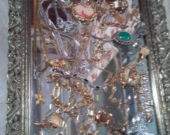 Vintage Antique Glamorous Cosrume Jewelry