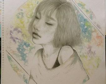 Taeyeon // Rain- Print