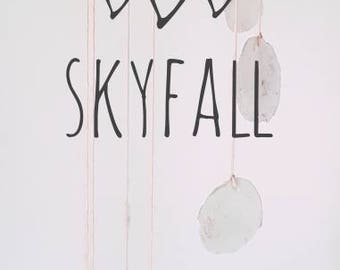 "Skyfall-7"" hoop-nature inspired mobile"