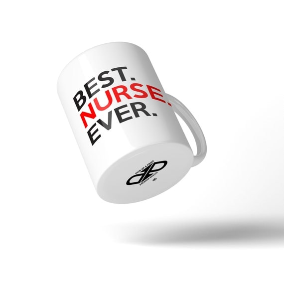 Best Nurse Ever Mug - Great Gift Idea Stocking Filler