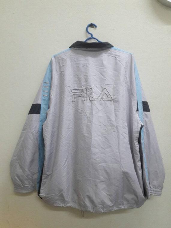 Vintage FILA windbreaker sportwear street jacket Size XL