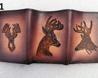 Leather Deer Wallet