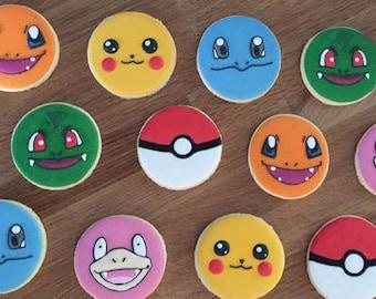 Pókemons Cookies